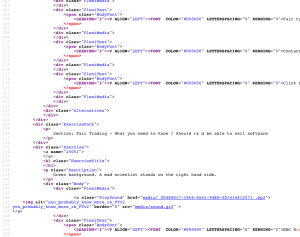 Fair Trading Mohive HTML code
