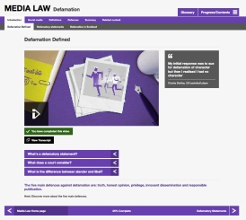 Media Law - desktop