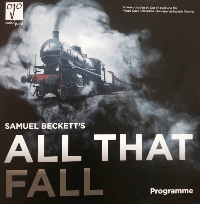 All That Fall - programme cover